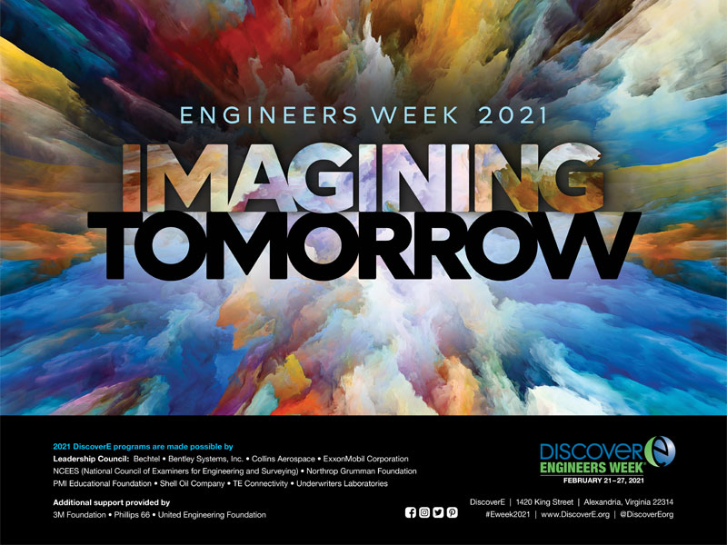 Engineers Week Theme Poster