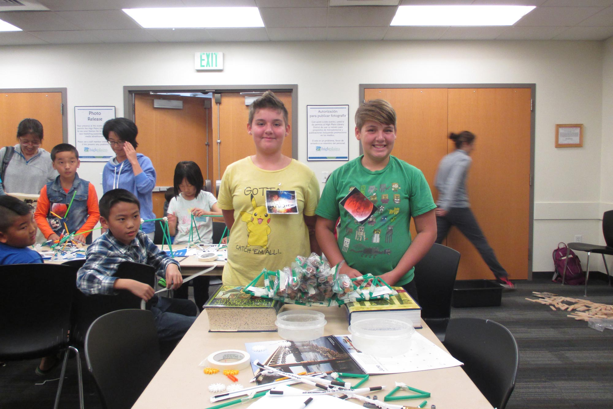 Project BUILD event at High Plains Library District