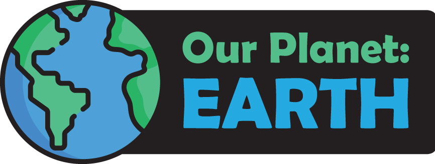 Our Planet: EARTH Logo