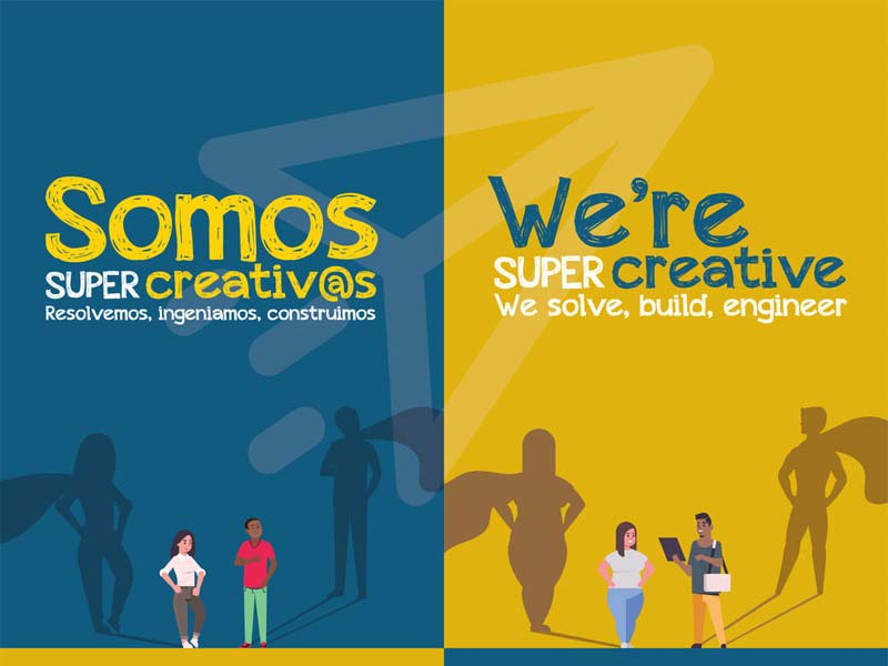 Somos Super Creativos - We're Super Creative