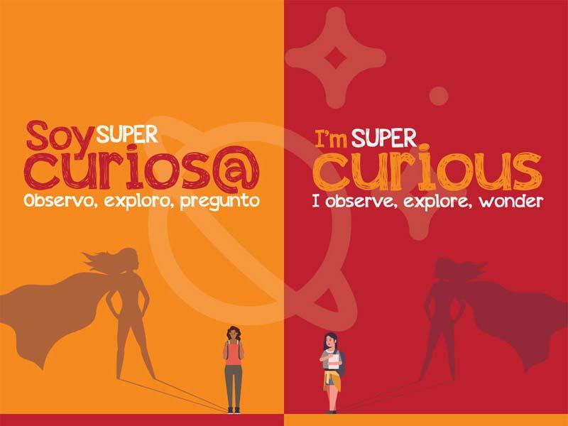 Soy Super Curiousa - I'm Super Curious
