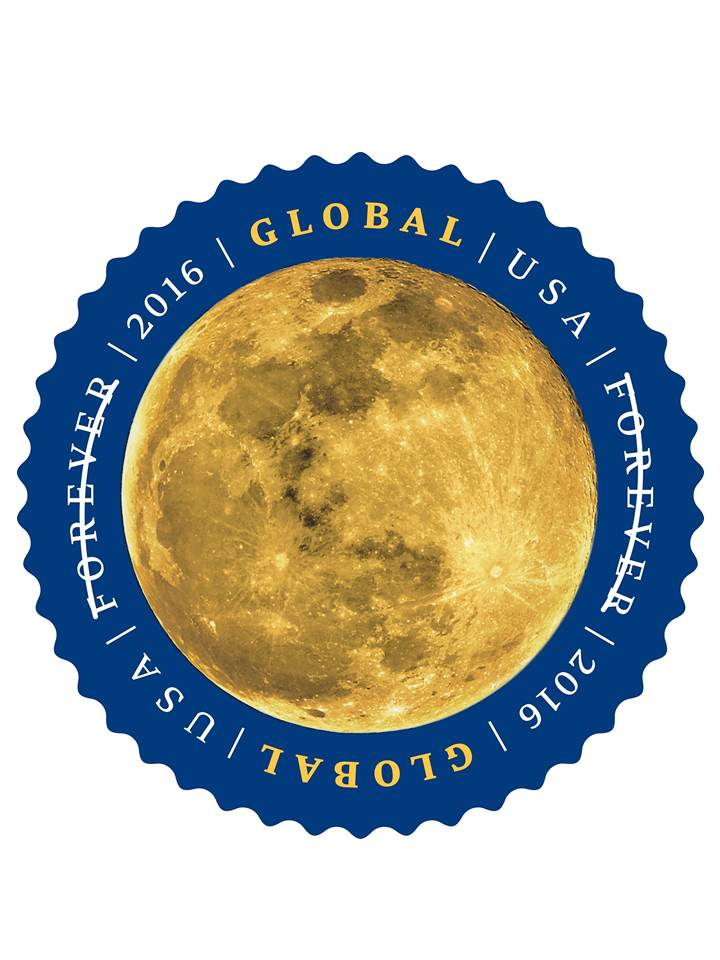 Moon Forever Stamp