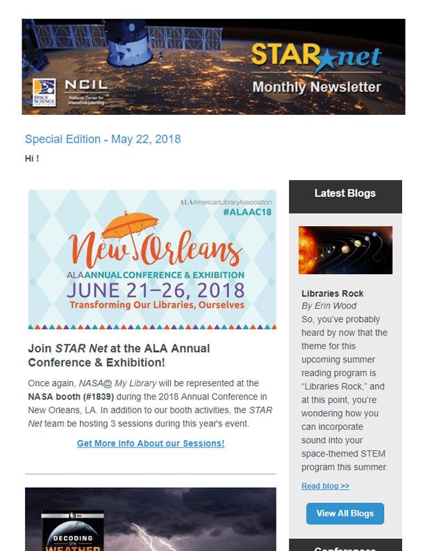Newsletters – STAR_Net