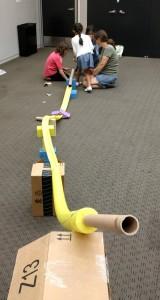 Long collaborative coaster
