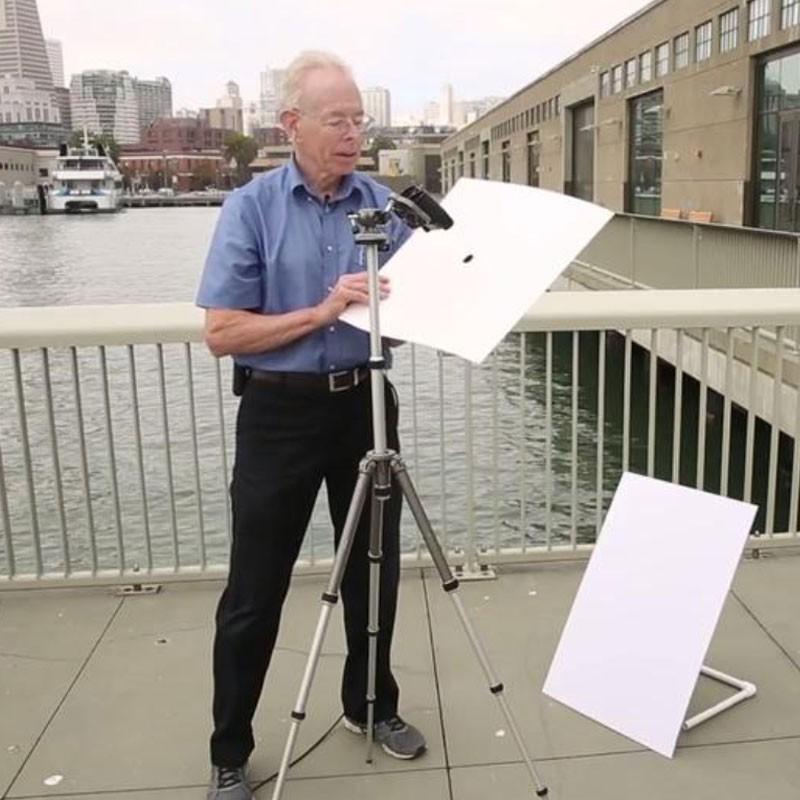 Pinhole Projector: Shipping Box Version