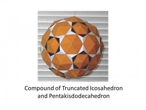 Compound of Truncated Icosahedron and Pentakisdodecahedron