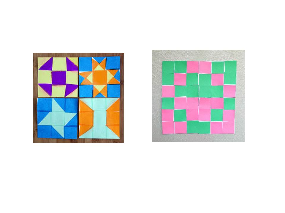 Paper Quilting Colored Paper Creativity Geometry And A Little