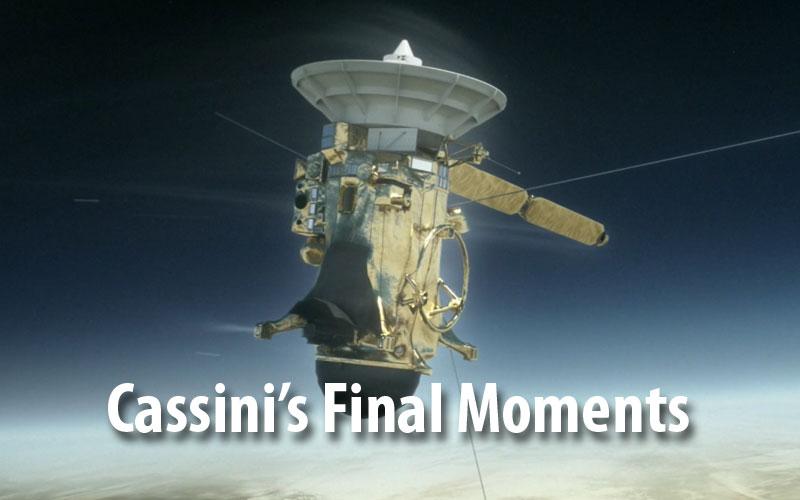 Cassini's Final Moments