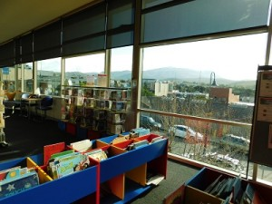 Children's area at the Kingston Library in Tasmania. Credit: Keliann LaConte