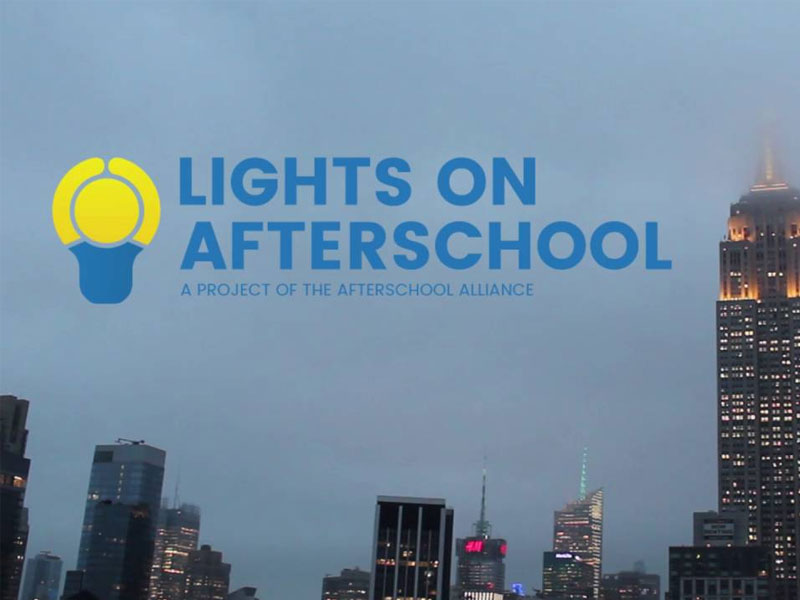 "How Your Library Can Celebrate ""Lights on Afterschool"""