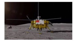 China´s Chang´e 4 on the Moon