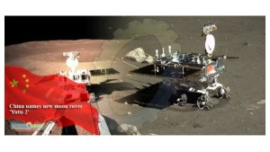 China´s Rover Yutu 2 on the Moon
