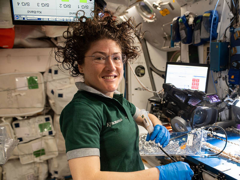 NASA In-flight Education Downlink