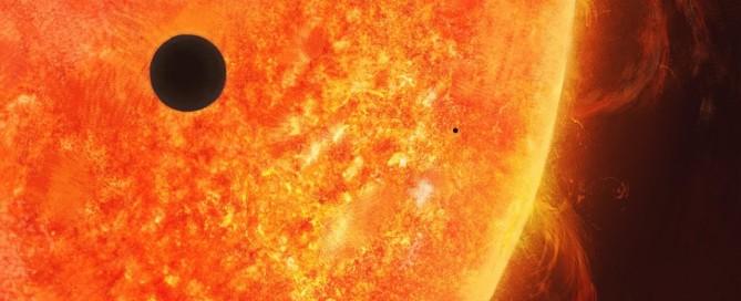 Sun and Mercury