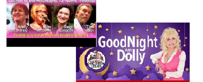 Sounds of the Mountains and Goodnight With Dolly Parton