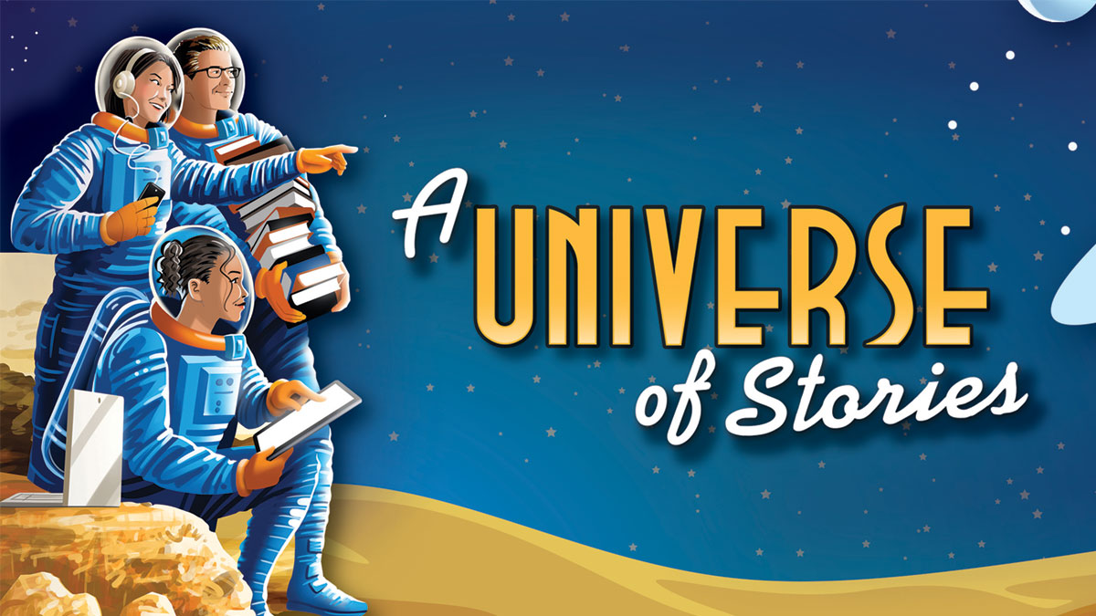 A Universe of Stories Theme