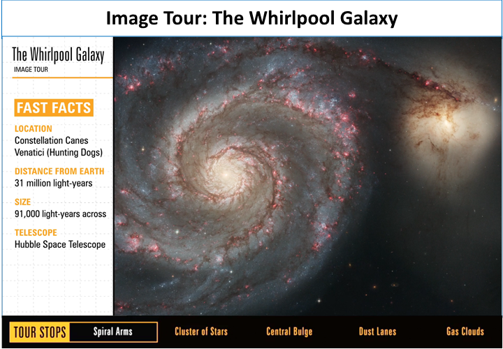 Image Tour: The Whirlpool Galaxy