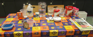 All the supplies for a states of matter program