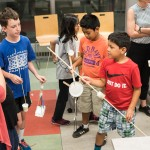As part of the Exploring Human Origins theme, kids in grades 3-5 experimented with tool making during Be The Scientist: Tools and the Brain. 20 Sep 2016