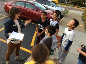 Discussing what we know about the planets on our journey.
