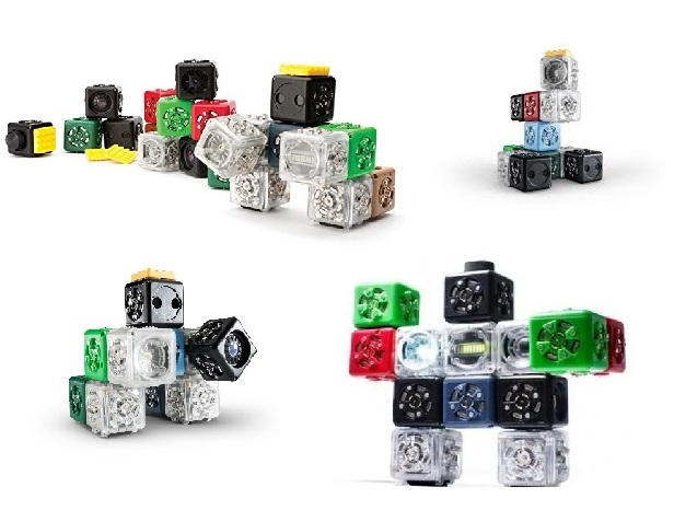 Cubelets Collage